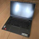 2020おすすめノートパソコンLenovo IdeaPad S540 (14 AMD)写真レビュー
