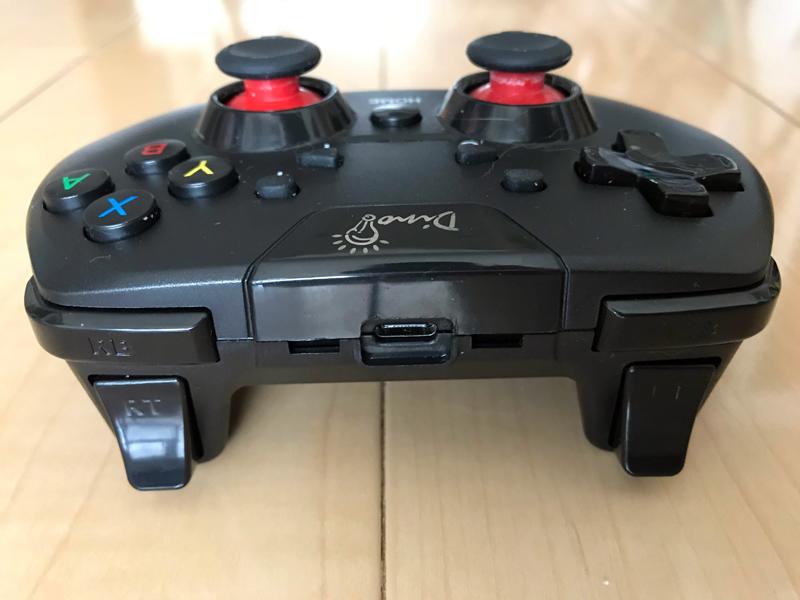 プロコン互換BluetoothコントローラーDinoFire