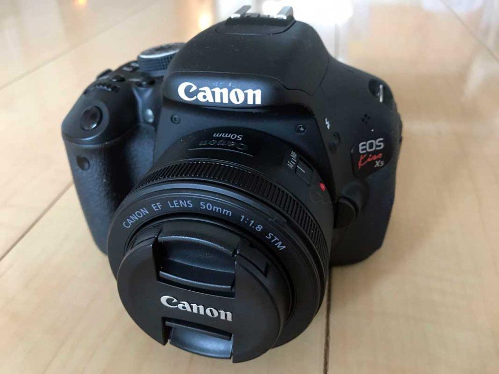一眼レフカメラEOS Kiss X5