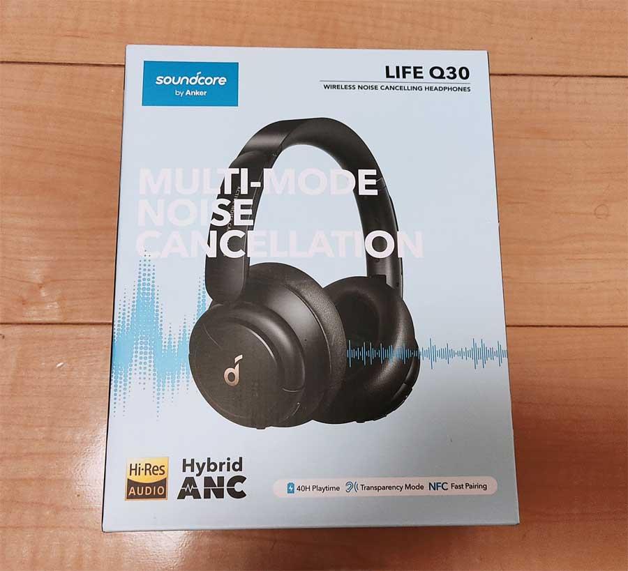Anker Soundcore Life Q30箱