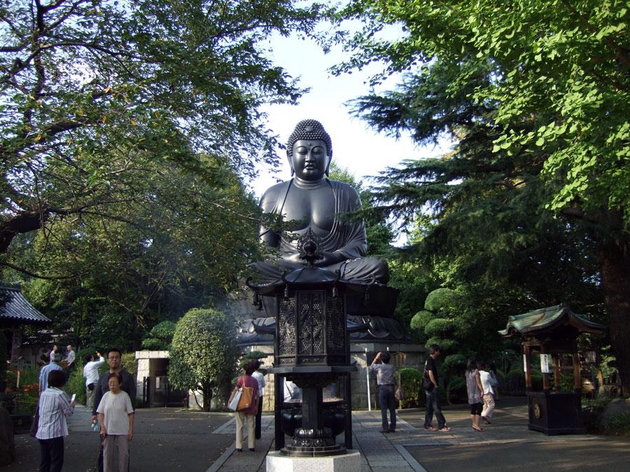 東京大仏 乗蓮寺