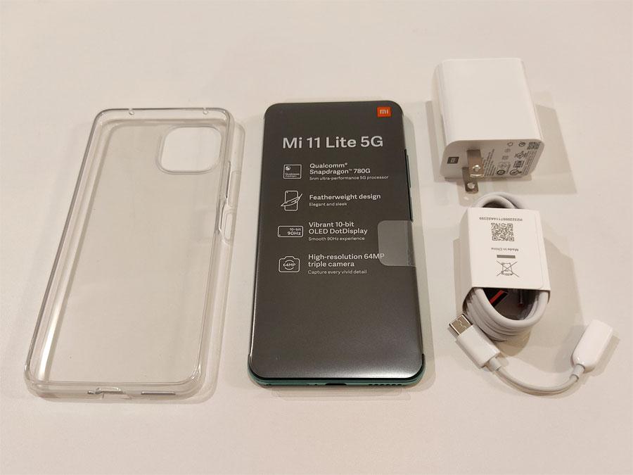 Mi 11 Lite 5G 付属品 SIMピン撮り忘れです