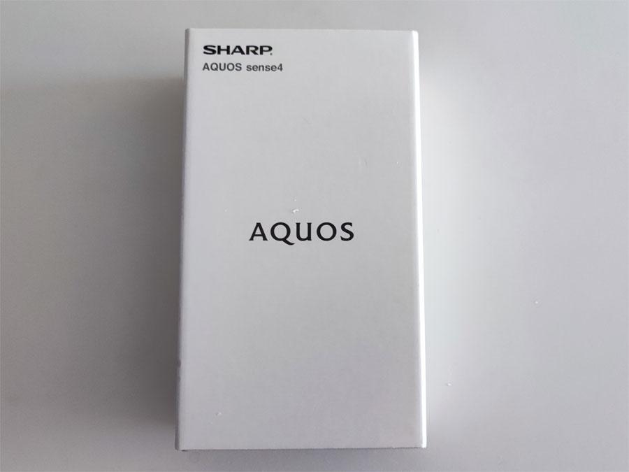 AQUOS sense 4 箱